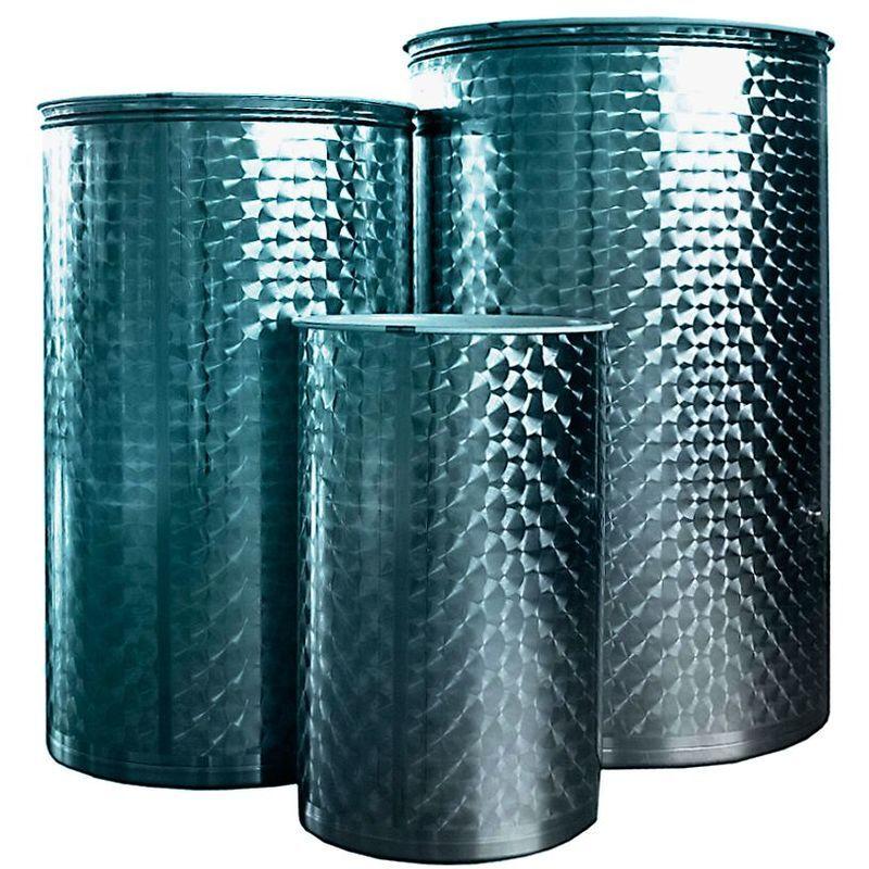 Rondi - Cuve acier inoxydable 304 vanne pneumatique/1.000L