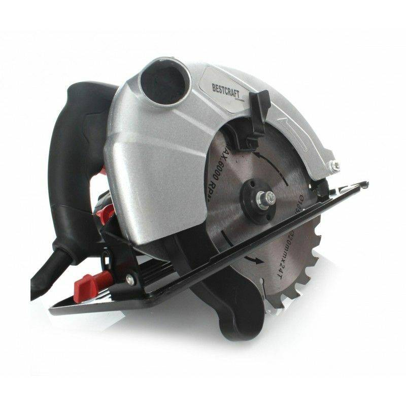 Hucoco - DCRAFT - Scie électrique à main - Puissance 1380W - Vitesse 4800 rpm
