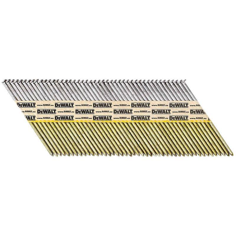 DeWALT Clous en bande papier DNPT, lisse, 90 mm, 2200 pièces - DNPT3190Z