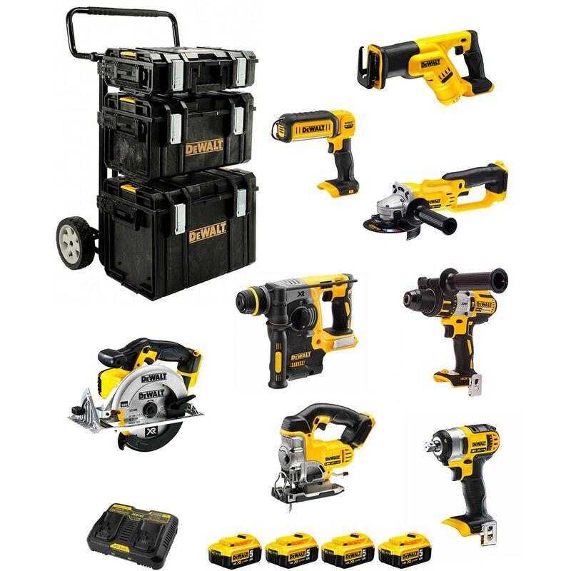 DeWALT Kit DCK895P4 (DCD995DCF880DCH273DCS391DCG412DCS387DCS331DCL0504 x