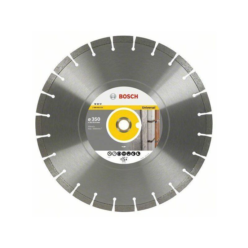 Bosch Lame de scie diamant Expert pour Universal, 450 x 25,40 x 3,6 x 3,6 x 12