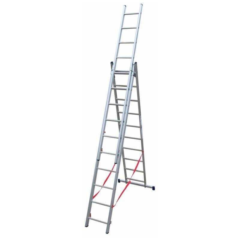 ECHAFAUDAGES STÉPHANOIS Echelle Universelle 3 plans adaptable aux escaliers ES03F290