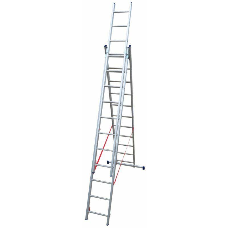 ECHAFAUDAGES STÉPHANOIS Echelle Universelle 3 plans adaptable aux escaliers ES03F310