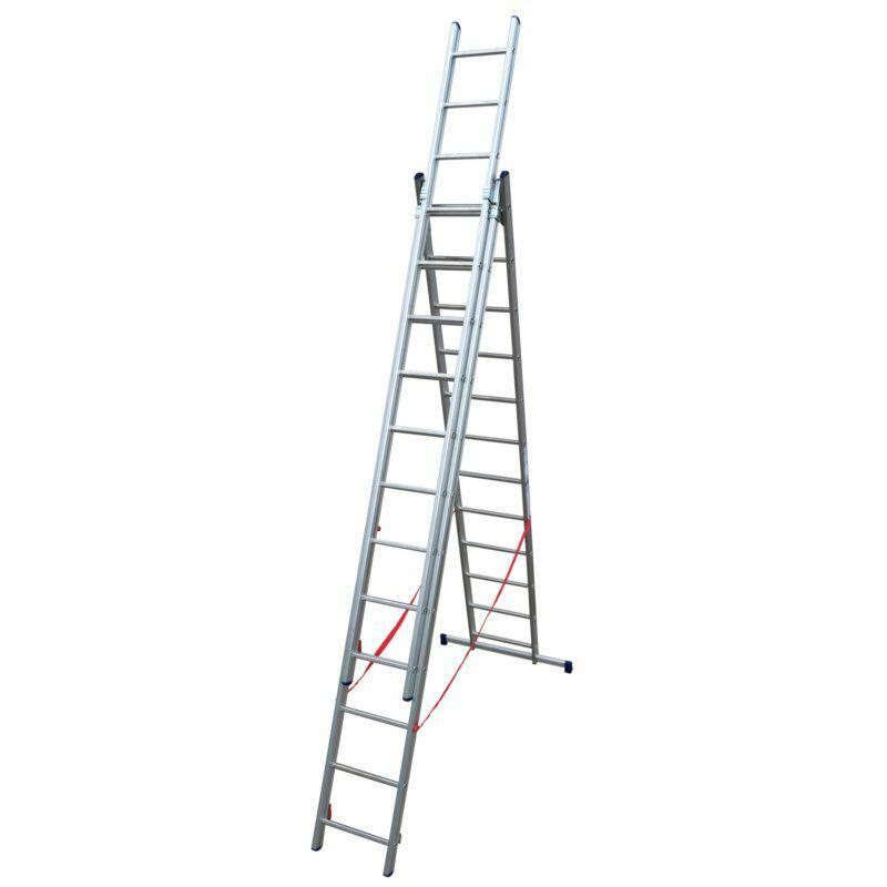 ECHAFAUDAGES STÉPHANOIS Echelle Universelle 3 plans adaptable aux escaliers ES03F350