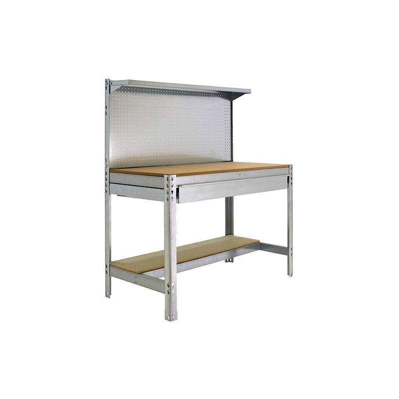SIMONRACK Etabli 3 niveaux/1 tiroir 875 Kg L. 1510 x Ht. 1445 x P. 610 mm KIT SIMONWORK