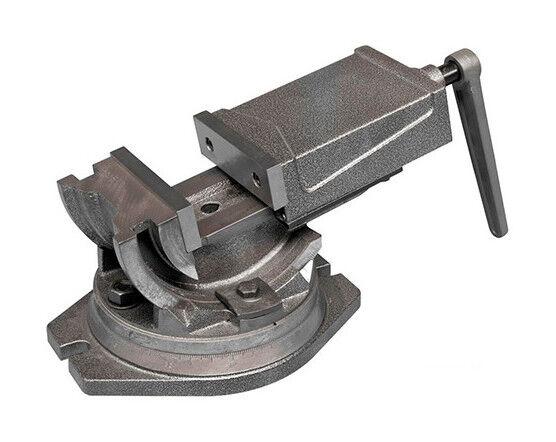 HOLZMANN Etau industriel 125 mm 3 axes avec base tournante - IU125 - Holzmann - -