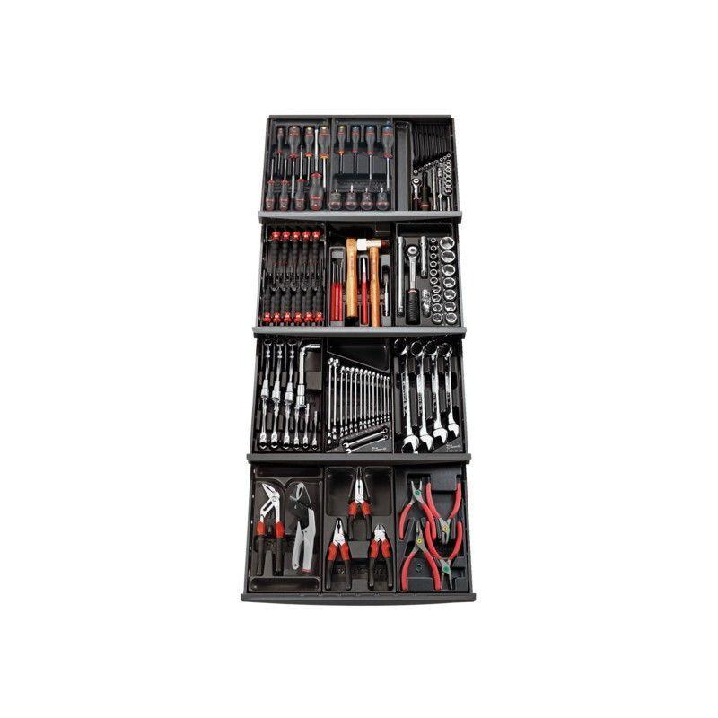 FACOM Composition 12 modules pour 4 tiroirs servante Facom 129 outils CM.129APB