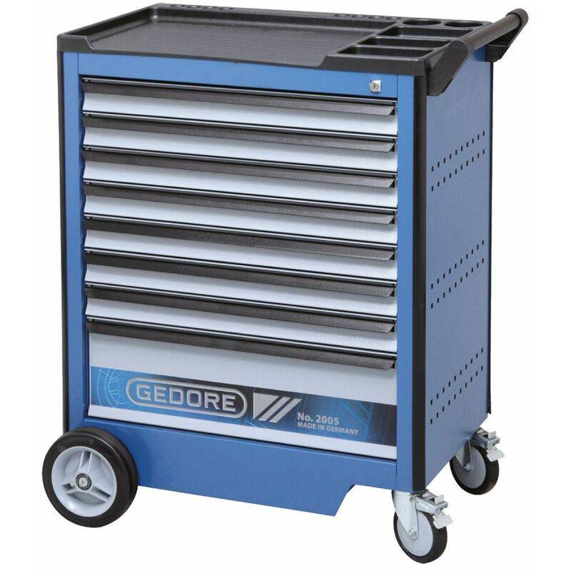 Gedore Servante d'atelier avec 8 tiroirs - 2005 0701