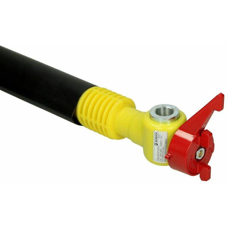 LE SANITAIRE GOK Arrivée de gaz PS 5 bar avec robinet d'arrêt principal, 420 mm