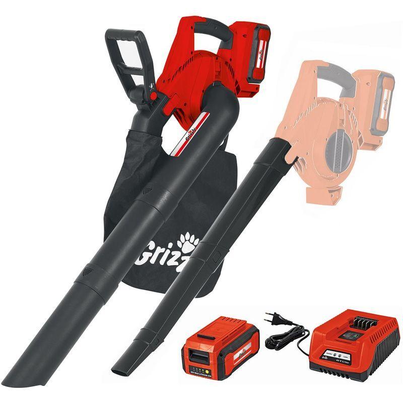 Aspirateur sans fil Grizzly Tools ALS 4025 Li-Ion avec batterie 40V / 2,5 Ah