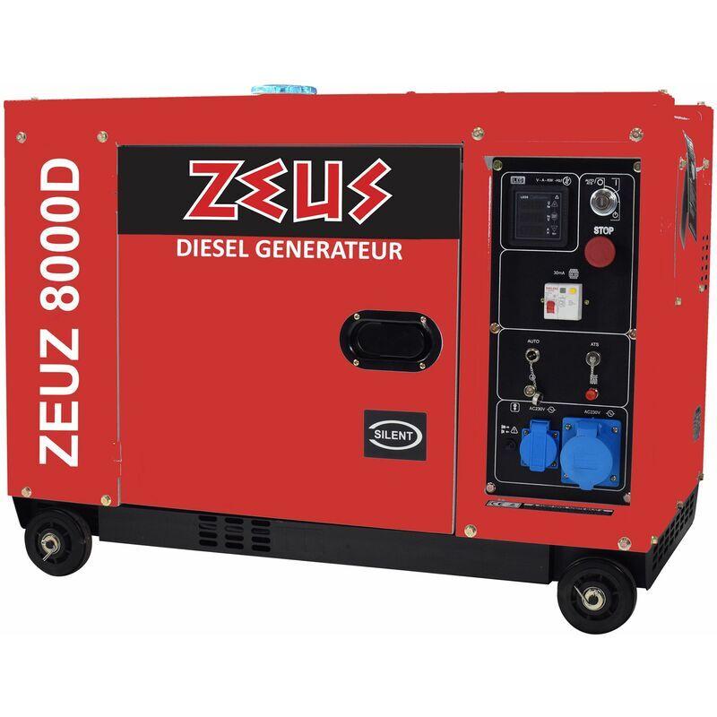 Zeuz - Groupe électrogène diesel 6300 Watts