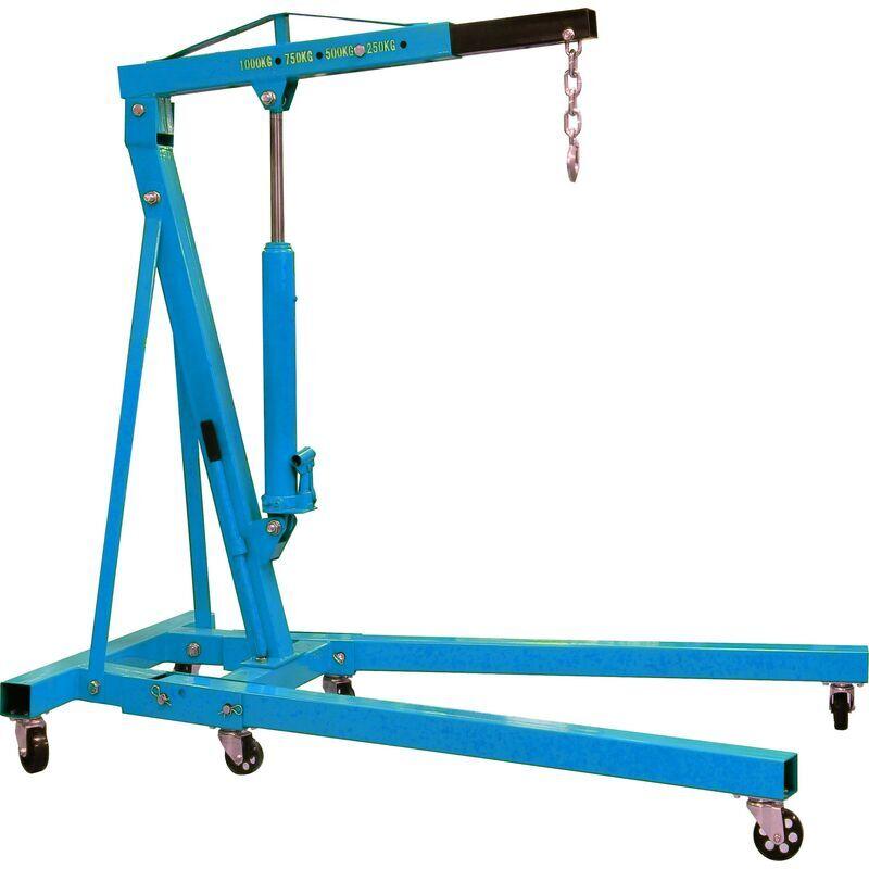 EQUINOXE Grue D'Atelier Pliante 1000Kgs Equinoxe -S13085