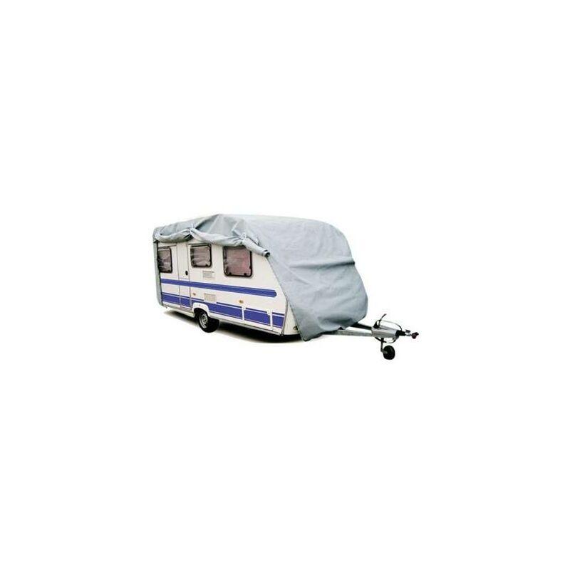 PERALINE Housse caravane en PVC 160 grs/m² pour usage intensif 600x230x200 cm