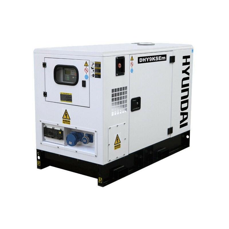 HYUNDAI Groupe électrogène Diesel DHY9KSEm insonorisé monophasé - Hyundai