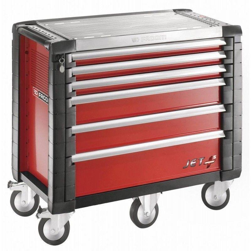Facom - JET.6M5PB. Servante JETM5 6 tiroirs rouge 1948.00