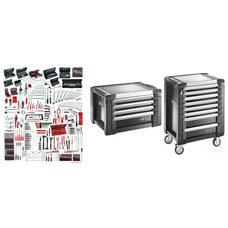 FACOM JET8.M160A Sélection maintenance industrielle 528 outils plus servante 8