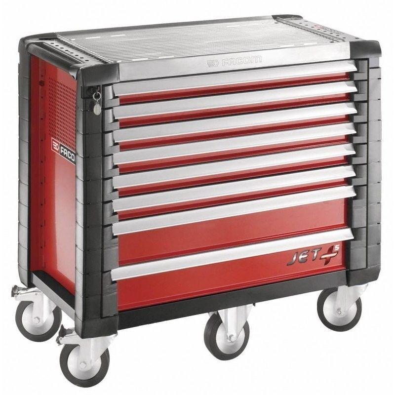 FACOM JET.8M5PB. Servante JETM5 8 tiroirs rouge 2053.08