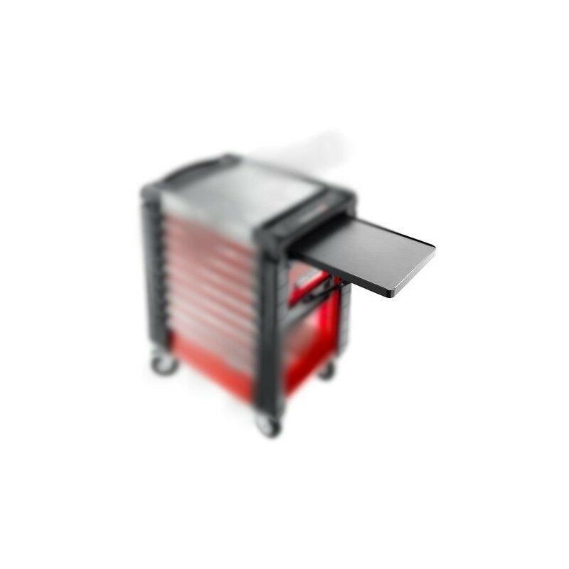 Facom - JET.A16PB. Tablette en métal rabattable noire pour servante 143.30