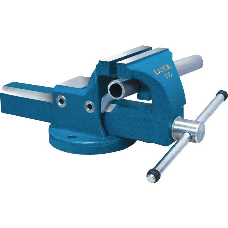 Kanca Forging - Étau parallèle Fortissimo Fix l. de mors 135 mm ouv. de clé 170