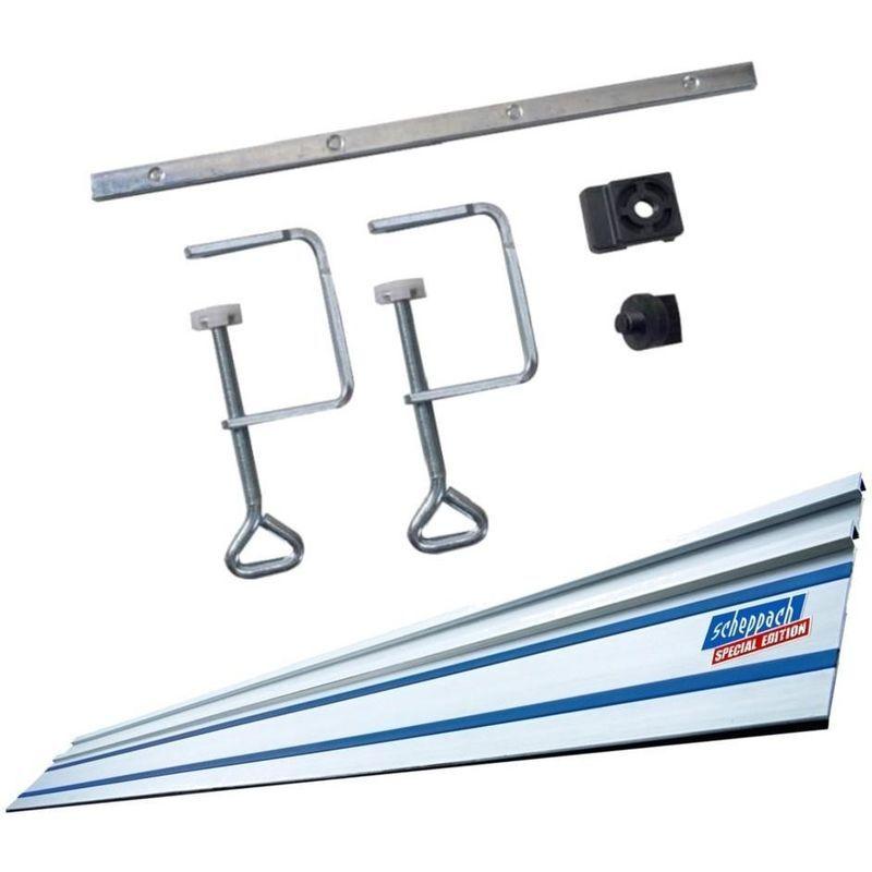 SCHEPPACH Kit Accessoires + Rail De Guidage 1400Mm Pour Scie Circulaire Plongeante Pl55