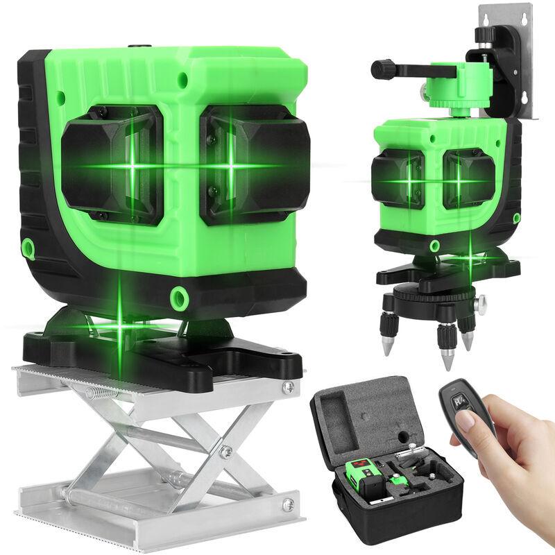 KKMOON Kit de niveau laser KKmoon 3D 12 lignes, EU 220V