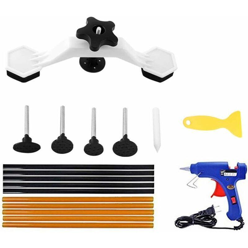 BRIDAY Kit de réparation de carrosserie automobile,kit de réparation de bosses sans