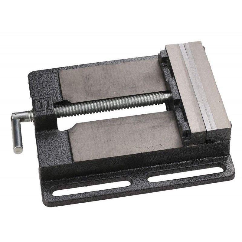 KSTOOLS Etau à mors parallèle 150mm Kstools, ouverture 120mm pour perceuse sur colonne