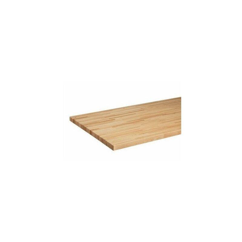 KUPPER Panneau de bois massif pour établi 120x60cm - TNT - Kupper