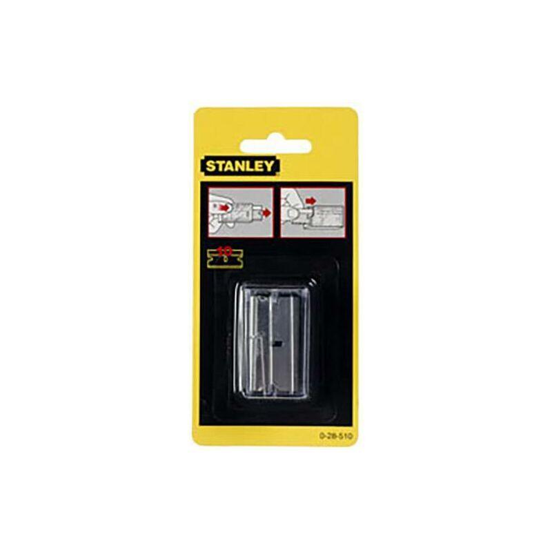STANLEY BY BLACK & DECKER Lames de rechange pour grattoir en verre 0-28-510 1 pc(s) D897851 - Stanley By
