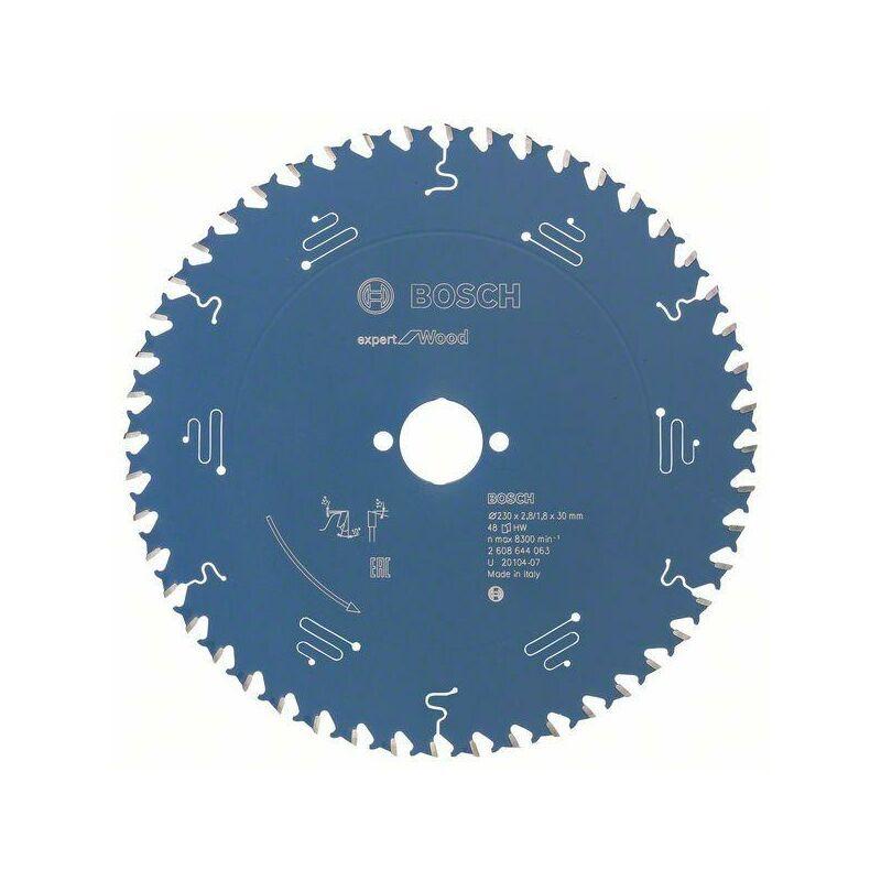 Bosch Lame de scie circulaire Expert for Wood, 230 x 30 x 2,8 mm, 48