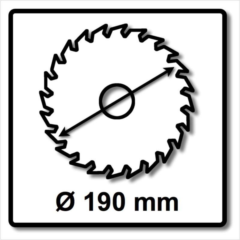 Bosch Lame de scie circulaire Expert pour Bois 190 x 30 x 2,6 mm, 48 Dents (