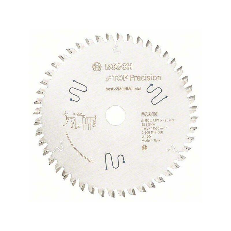 HAZET Lame de scie circulaire.TOP Pre MM165x1,8x20mm Z48 TF Bosch