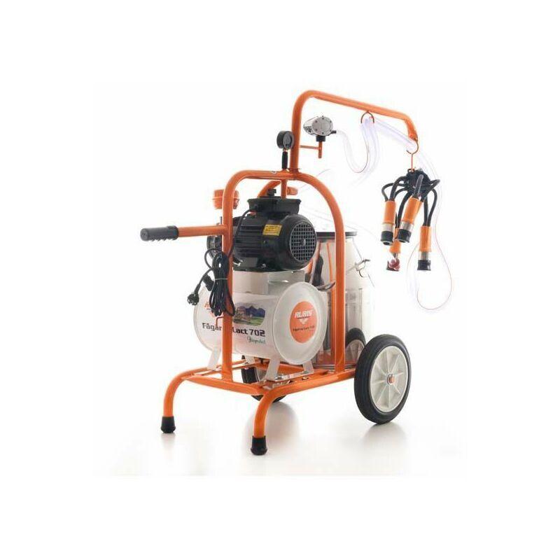 RURIS Machine à traire électrique 550W chassis mobile cuve inoxydable 30 litres Ruris