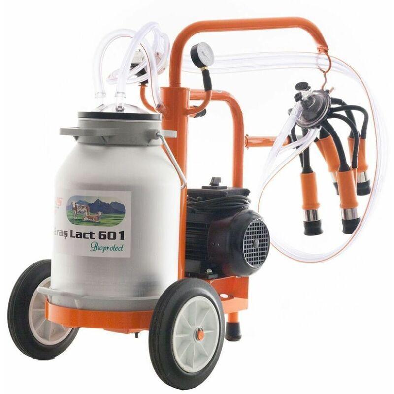 RURIS Machine à traire moteur électrique 550W cuve alu 30 litres Ruris Lact 601