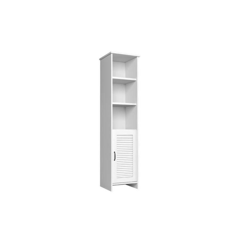 HUCOCO MARIME   Armoire colonne salle de bain/entrée/salon   48,4x 201x44 cm   3