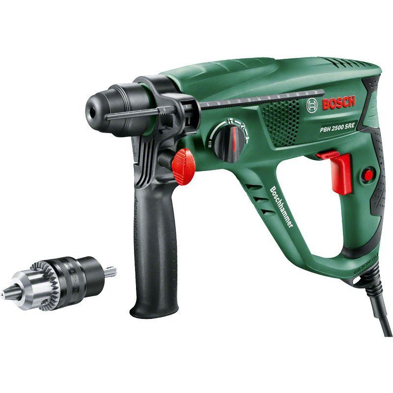"""BOSCH Perforateur Bosch """"Universal"""" PBH 2500 SRE avec coffret (mandrin automatique +"""