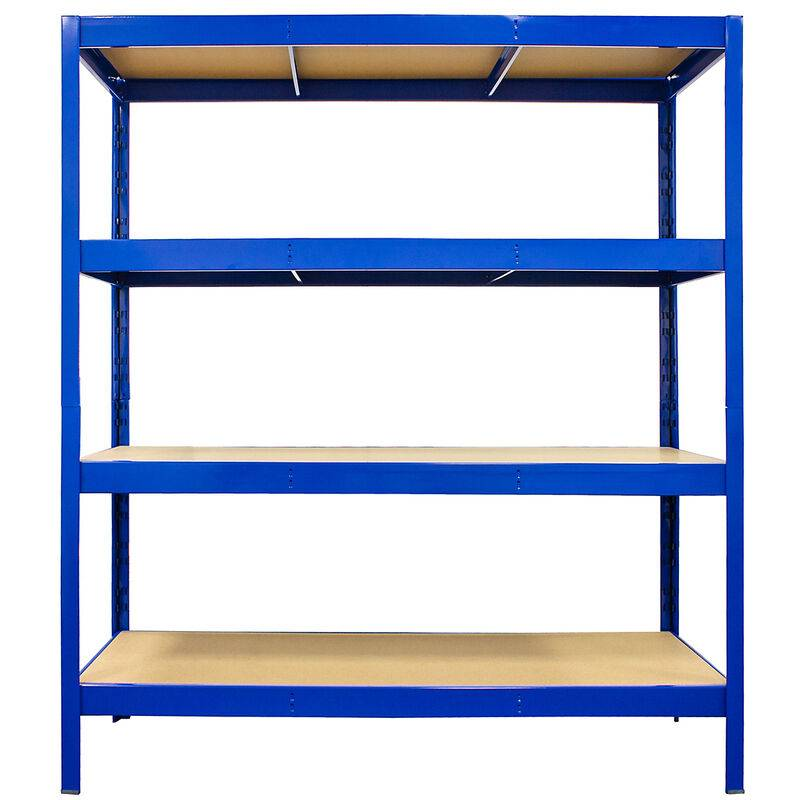 CERTEO Mega Deal   5x étagères métalliques pour charges lourdes - Profondeur 60 cm