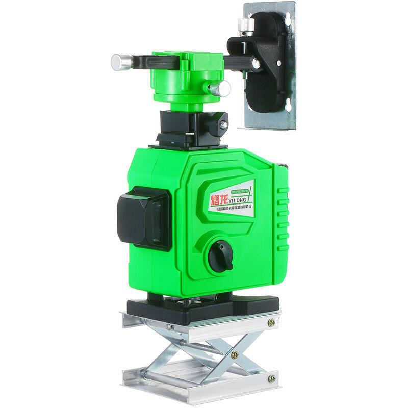 ASUPERMALL Niveau Laser Outil 3¡Á360 ¡ã Vert Faisceau Autolissant 98Ft Horizontale Et