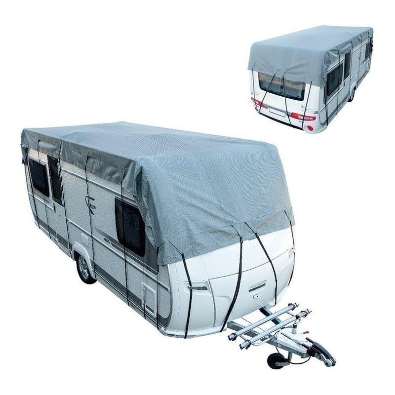 BRICOMARTEAU Caravane et camping-car bâche de protection de toit 10M 300cm