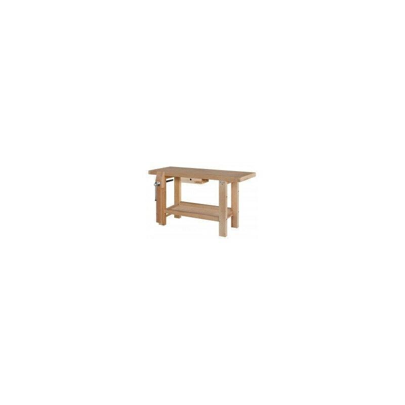 Outifrance - Etabli massif en bois 1,50 x 0,50 m - 19150
