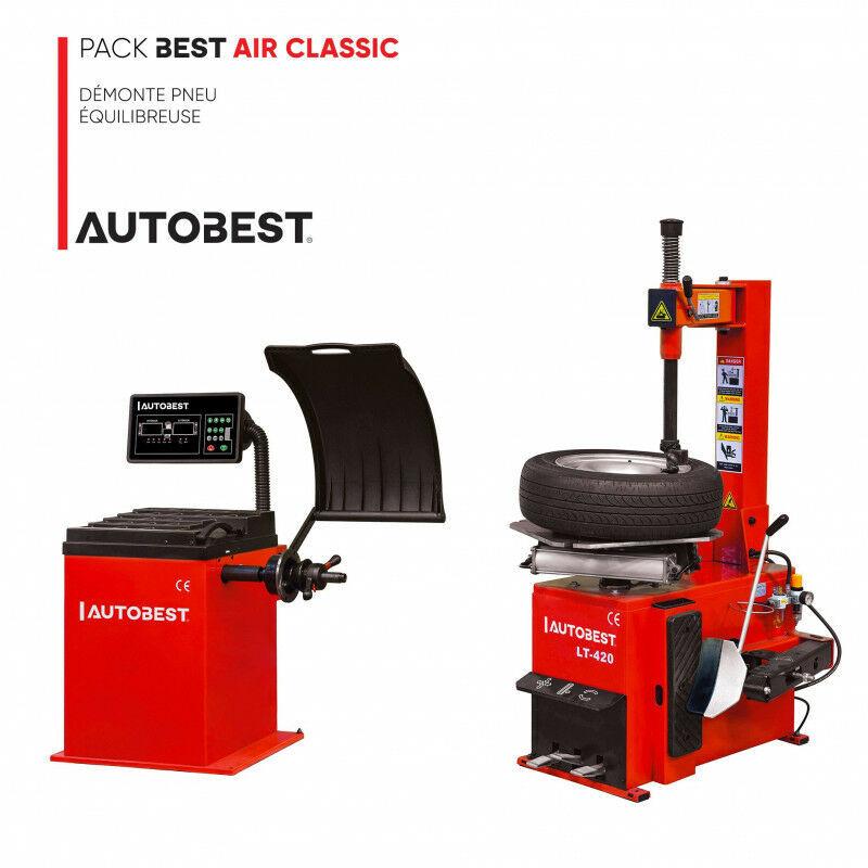 AUTOBEST Pack BEST AIR CLASSIC démonte pneu et equilibreuse
