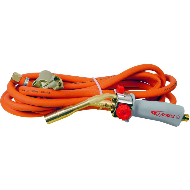Guilbert Express - Chalumeau gaz Piezo 6360 - Pack plombier prêt à l'emploi