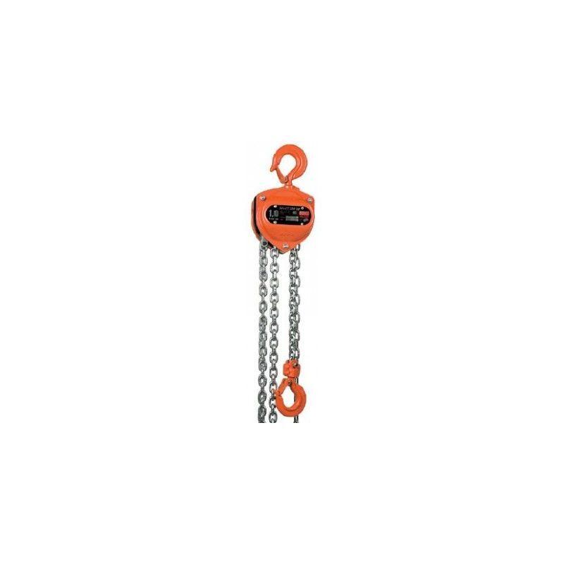 Websilor - Palan à chaine utilisation intensive - Hauteur de levée : 4 mètres