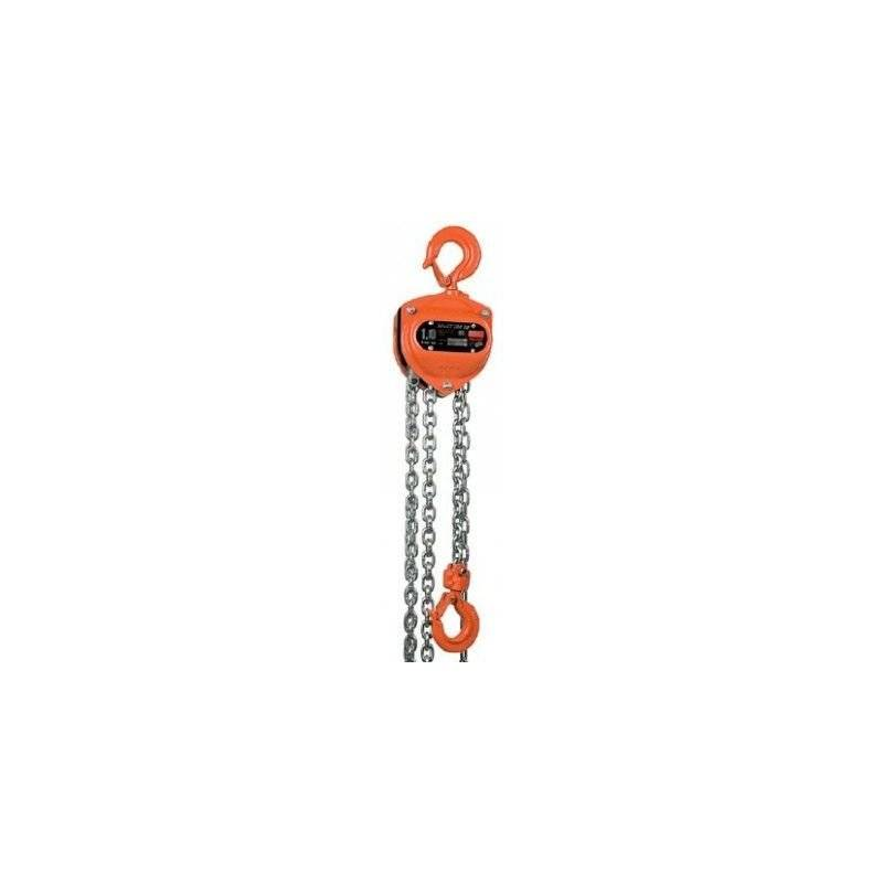 Websilor - Palan à chaine utilisation intensive - Hauteur de levée : 6 mètres