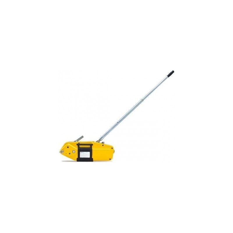 WEBSILOR Palan de traction yaletrac - Capacité : 3200 kg - Enrouleur : oui - Câble 20m :