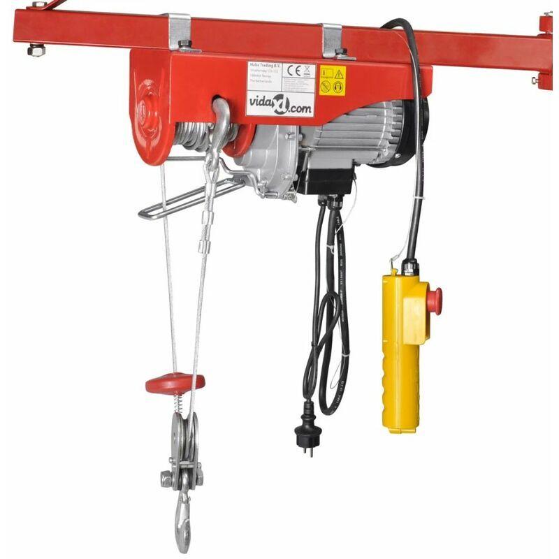 ASUPERMALL Palan electrique 1000 W 300/600 kg