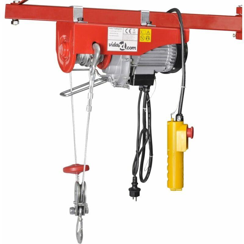 VIDAXL Palan électrique 1300 W 400/800 kg