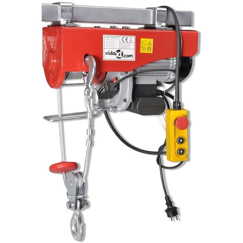 VIDAXL Palan électrique 1300 W 500/999 kg