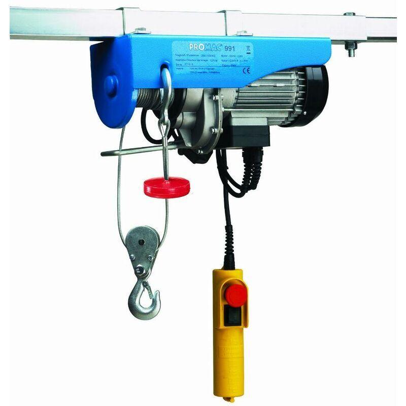 PROMAC Palan électrique 250/500 kg 991G - Promac