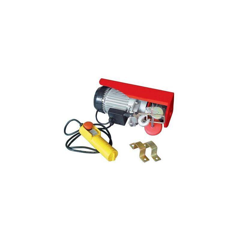 HELIOTRADE Palan electrique 500 kilos - cable 12 m - moteur 1000W